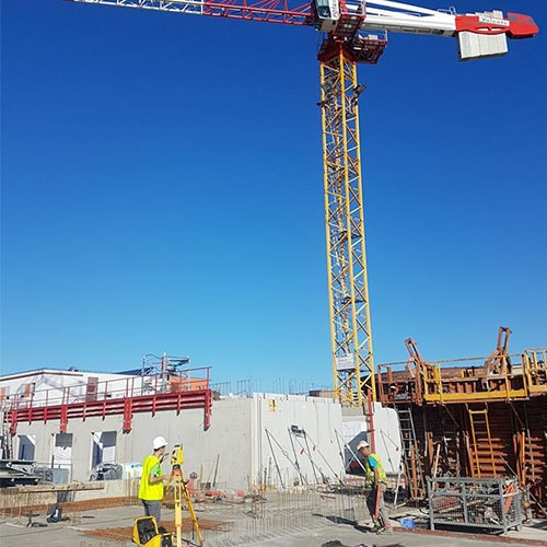 Implantation CHU Chantier Bellevue